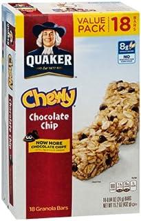 Quaker Chewy Chocolate Chip Granola Bars, 18 Ct