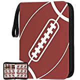 720 Pockets Football Card Binder with Sleeves fit for Baseball Cards, Trading Cards Album Cards Holder Protectors Set Fit for MTG, Yugioh, Sports, Football Card
