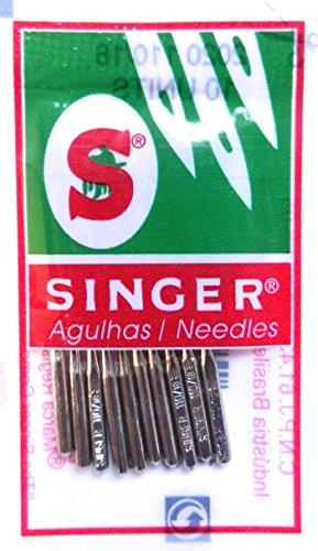 Singer 10 Nähmaschinen Nadeln 2020 Stärke 80/11 für gewebte Stoffe