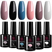 6-Pack Makartt Gel Nail Polish Set