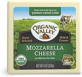 Organic Valley Low Moisture Part Skim Organic Mozzarella Cheese Block