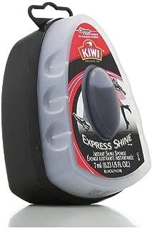 KIWI Express Shine Sponge Shoe Polish, Black 0.23 oz (Pack of 10)