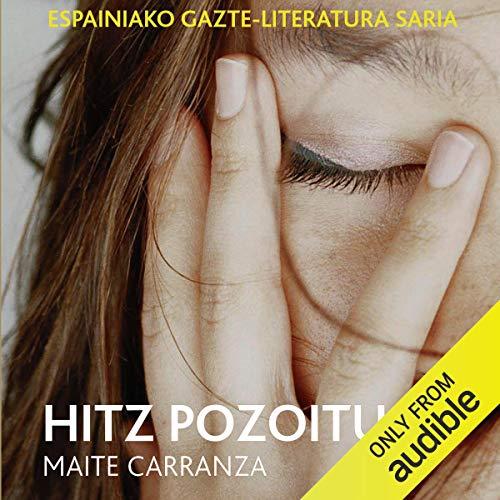 Diseño de la portada del título Hitz Pozoituak (Narración en Euskera)