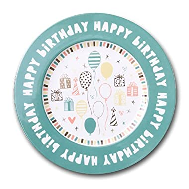 Happy Birthday Plate, 10  Ceramic