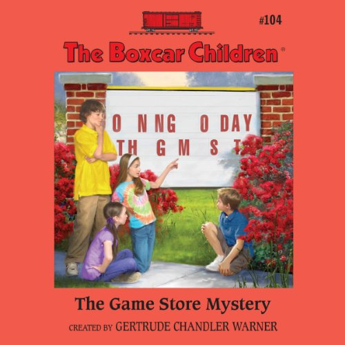 The Game Store Mystery audiobook cover art