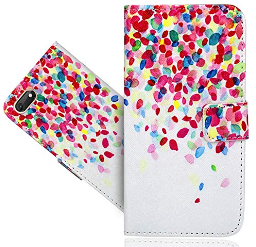 Wiko Harry 2 Handy Tasche, FoneExpert® Wallet Hülle Flip Cover Hüllen Etui Hülle Ledertasche Lederhülle Schutzhülle Für Wiko Harry 2