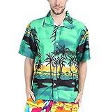 Camisas Hombre Elegantes Camisa Hawaiana Playa De Verano Man