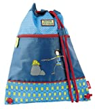 Sigikid 24468 - Bolsa de Gimnasia de Cuerdas, Color Azul, Talla 37 cm