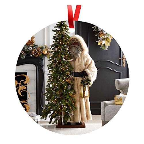 Orgrul Christmas Decoration 2020 Personalised Christmas Decoration Christmas Trees Pendant Christmas Decorations Tree Decoration Gift Christmas Wooden Christmas Decoration Polka Dot E51 (A)