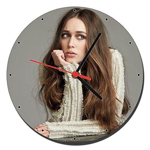 MasTazas Alycia Debnam Carey Reloj de Pared Wall Clock 20cm