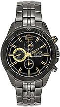 [セイコー]SEIKO メンズ 腕時計 RECRAFT SERIES クロノグラフ ブラック ステンレス 10気圧防水 SSC395 腕時計 [並行輸入品]
