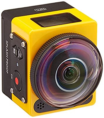 Kodak SP360 16 MP Digital Camera with 1x Optical Image Stabilized Zoom with 1-Inch LCD (Yellow) from KODC1