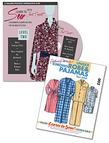 Learn to Sew with Janet Corzatt ― Level TWO ― Plus Robe/Pajama Pattern: A Beginners Sewing Method for Palmer/Pletsch