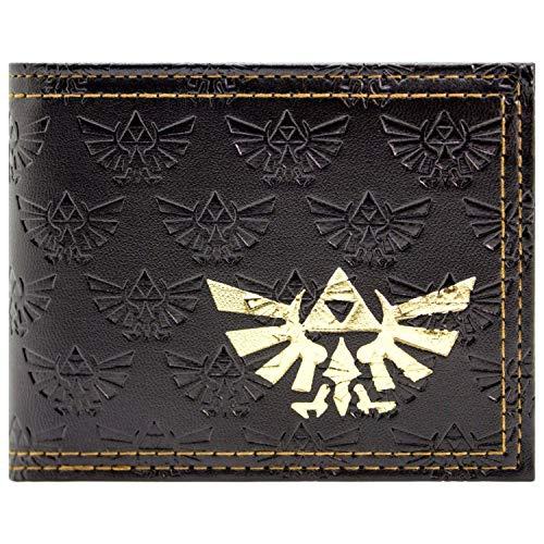 The Legend of Zelda Triforce Portemonnaie Geldbörse Braun