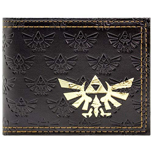 Cartera de The Legend of Zelda Triforce marrón