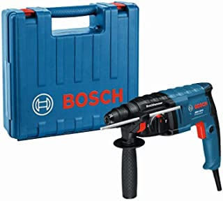 Bosch Professional 061125A470 GBH 2-20 D Corded 240 V Rotary Hammer Drill with SDS Plus, Navy Blue