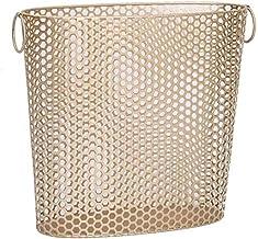 Modern iron laundry baskets Storage Laundry Hamper laundry bag Wäschebox laundry basket Desktop Storage basket,Gold