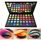 BONNIESTORE Colorful Eyeshadow Palette, 45 Colors High Pigmented Matte Shimmer Glitter Smooth Powder Eye shadow Blendable Long Lasting Waterproof Makeup Eyeshadow Pallet