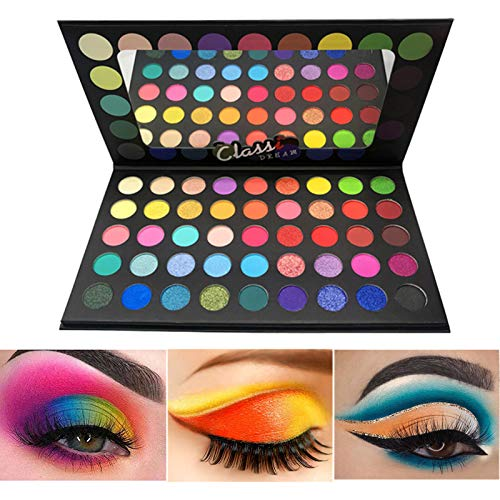 BONNIESTORE Colorful Eyeshadow Pale…