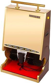 DDIAN Macchina Lustrascarpe Lucidatrice Elettrica Automatica Lucida Scarpe,A