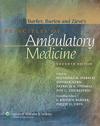 Principles of Ambulatory Medicine (Principles of Ambulatory Medicine (Barker))
