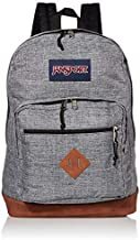 JanSport City View Backpack -15-inch Laptop School Pack, Heathered