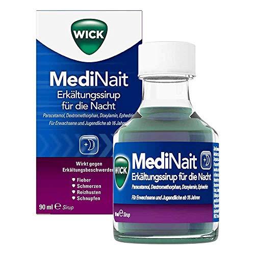 WICK MediNait Erkältungssirup, 90 ml Lösung