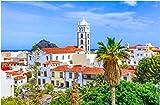 NOBRAND Rompecabezas De 1000 Piezas Garachico Tenerife Islas Canarias España Descripción De La Colorida Y Hermosa Ciudad De Garachico para Adultos Adultos Adulto Hobby Decoración del Hogar DIY