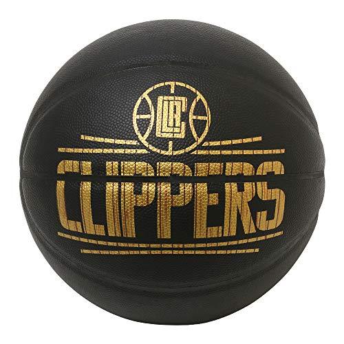 SPALDING(スポルディング) バスケットボール ハードウッドシリーズ クリッパーズ 76-653Z ブラック/ゴールド 7号球 バスケ バスケット