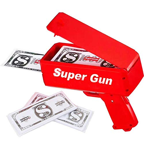 Pistola Dinero, Juguete Money Gun – Pistola Billetes