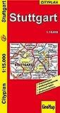 Stadtplan Stuttgart Cityplan 1:15 000 (Geo Map) - GeoMap