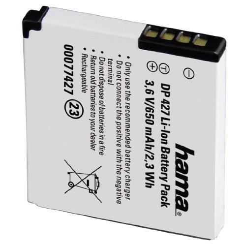 Hama DP 427 - Batería/Pila recargable (Litio-Ion, 650 mAh, 3.6 V, Cámara...