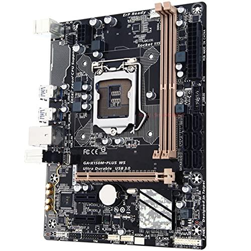 MPGIO Placa Base de Escritorio FIT FOR Gigabyte GA-X150M-PLUS WS Intel C232 LGA 1151 DDR4 32GB SATA 3 X150M-PLUS WS Placa Base Original de Segunda Mano