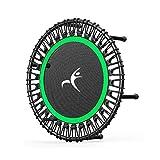 RUINAIER Trampolin Rebounder mit Sprungkardiotrainer-Traini Fitness-Trampoline, Leaps Abd Rebounds,...