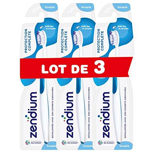Zendium Handtandenborstel, zacht, volledige bescherming, 3 stuks