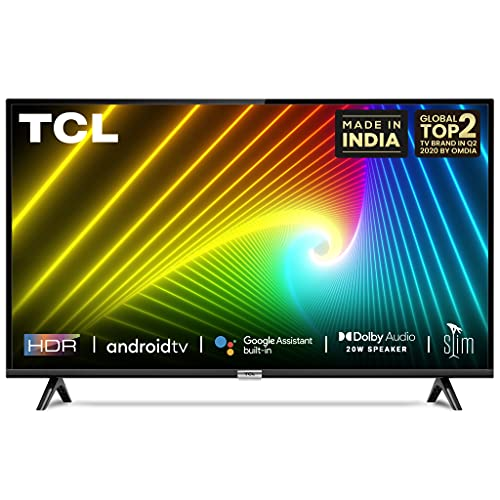 TCL 80 cm (32 inches) HD Ready Certified Android Smart LED TV 32S6500S (Black) (2020 Model)
