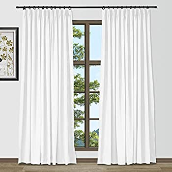 TWOPAGES Customizable Cotton Linen Curtain Custom Made