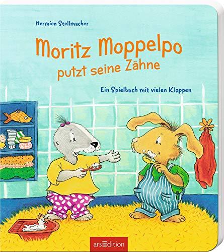 Moritz Moppelpo putzt seine Zähne: Ein Spielbuch mit vielen Klappen