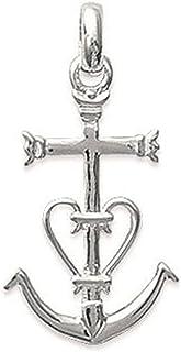 Pendentif Croix Ankh Argent Massif 925/°/°/° garanti sans nickel