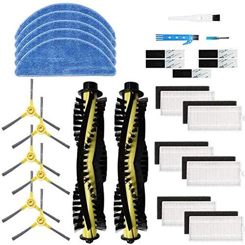 IUCVOXCVB Accesorios de aspiradora Accesorios Kit Fit para IKOHS NetBot S15 Robot Robot Filtro de aspiradora Pincel de aspiradora Piezas de Repuesto (Color : B)