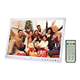 Digital Picture Frame, Andoer 13 inch LED Digital Photo Frame 1080P HD...