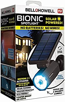 5-Pack Bell + Howell Bionic Solar Spotlight