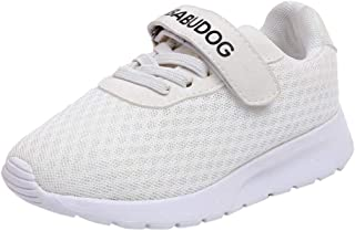 promo code 396ea 0ffc7 KUKICAT Baskets Enfant Chaussures de Course Respirantes en Mesh, Mode  Casual Sneakers Sport Running Confortable
