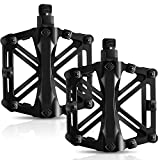 Bicycle Pedals, Mountain Cycling Bike Pedals Aluminum Anti-Slip Durable Sealed Bearing Axle for Mountain Bike...