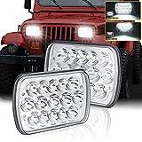 7x6 Led Headlights Dot Approved 2Pcs...