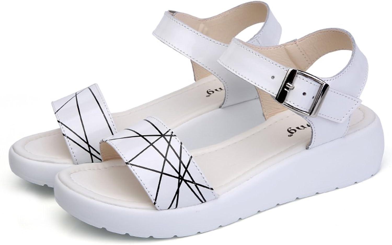 MET RXL Summer,Lady,Flat,Middle Heel Sandals Anti-skidding,Comfort Sandals