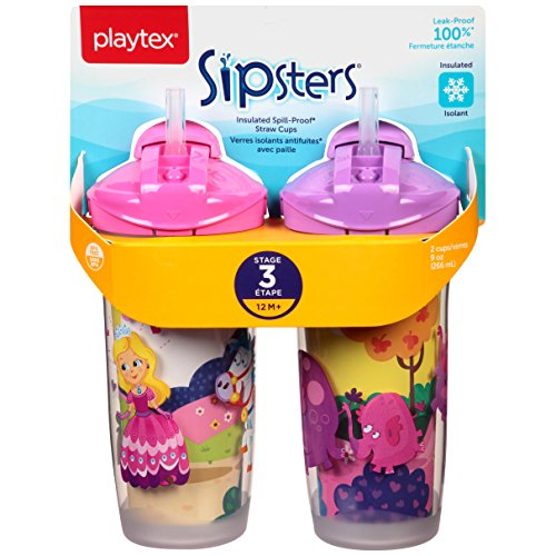 Price comparison product image Playtex Playtime Insulator Straw Cup,  9 oz,  2 ct