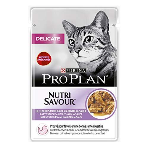 Purina Proplan Cat Nutrisavour Delicate Dinde 26 pochons 85 g
