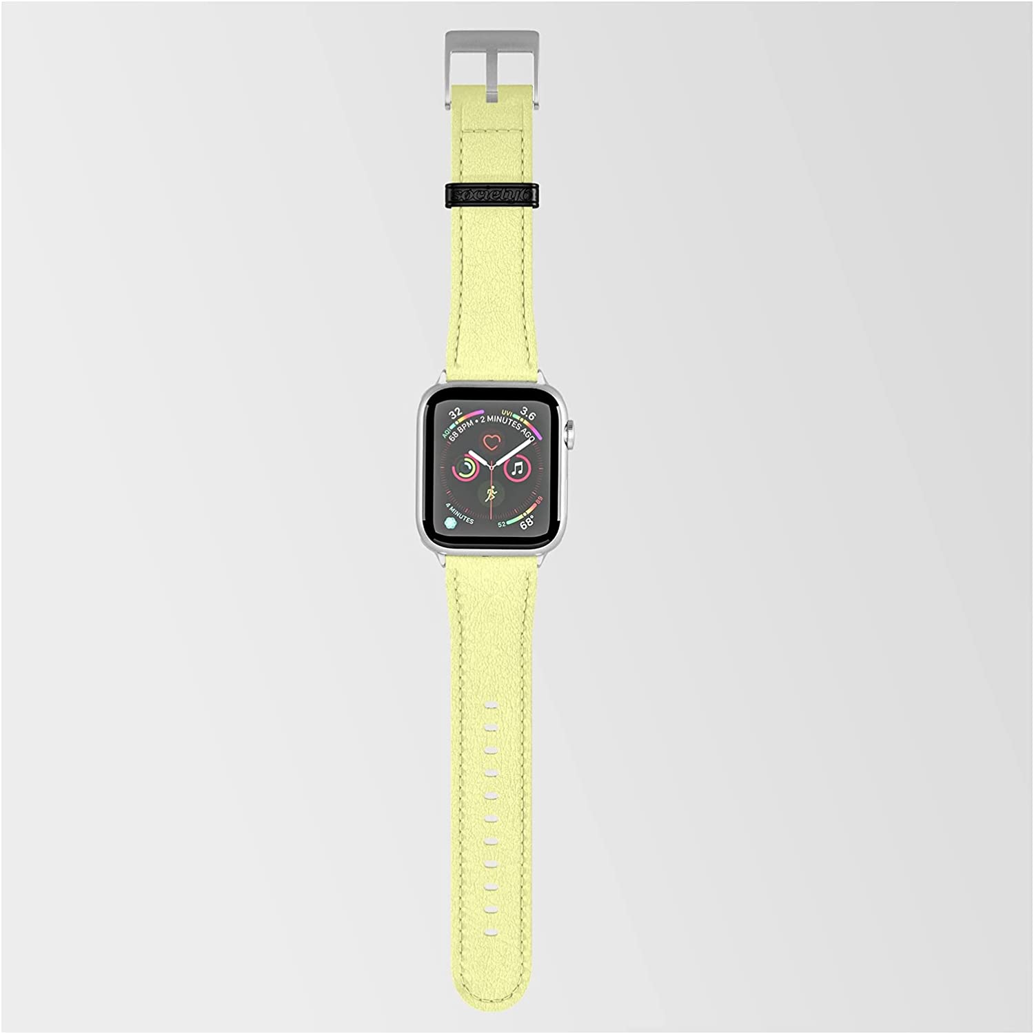 Soft Chalky Pastel Yellow 2021 model Solid Podartist Smartwatch Popular popular by on Color