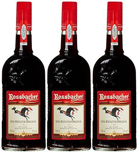 Rossbacher Kräuterlikör Österreich Likör (3 x 0.7 l)